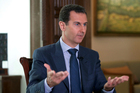 Syrian President Bashar Assad dismisses video of children dying after alleged gas attack as