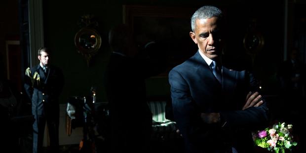 Loading Former United States President Barack Obama.