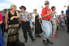 Crowds dance to the music at the Tauranga Jazz Festival. Photo/file
