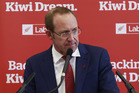 Labour leader Andrew Little says he knows of a fmaily that has been living in a garage for six months. Photo/Nick Reed