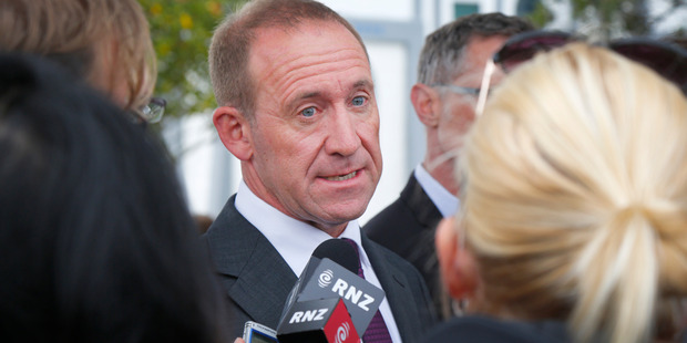 Andrew Little was fighting with one arm behind his back. Photo / File