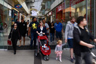New Zealand retail spending on electronic cards fell for a second month in March. Photo / Nick Reed