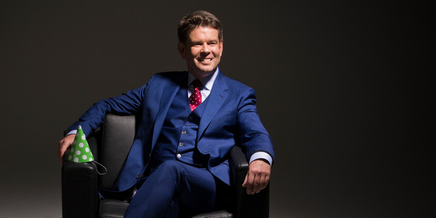 John Campbell is back on the small screen as Checkpoint makes its television debut.