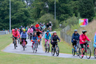 People enjoying The Big Easy cycle tour last year along Prebensen Drive. Photo/ file.