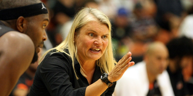 Finalist: Hawks head coach Kirstin Daly-Taylor is a finalist for the NZME People's Choice Award. Photo/File