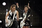 The Dixie Chicks light up the Mission Concert to really get the show back on the road.