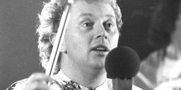 Musician Dave Dobbyn in 1986. Photo / File