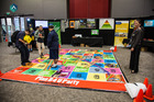 Snakes and Ladders was one of the activities youth took part in at the Road Safety Youth Expo 2017. Photo/Regan Fraser
