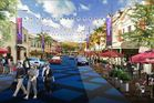 Artist impression of a revamped Lower Victoria Ave.