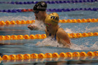 Ciara Smith in action at the National Age Group Championships in Wellington last month. Photo/Mike Swords