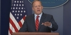 Watch: Watch: Sean Spicer delivers garbled defense of his Hilter remarks