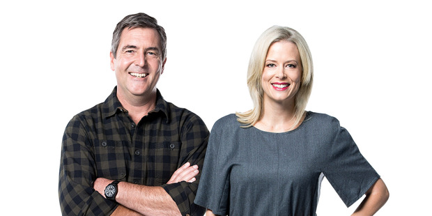 Shelley Ferguson and Peter Wolfkamp will front Three's newest property show, Slice of Paradise. Photo / Mediaworks