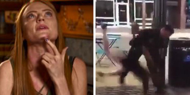 Loading Michaella Surat wept as she told Good Morning America how she was 'humiliated' by Fort Collins Police officers in Colorado who body slammed. Photos / ABC, Instagram