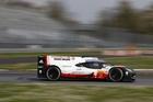 Brendon Hartley, Earl Bamber and Timo Bernhard tested the Porsche 919 Hybrid at Monza.