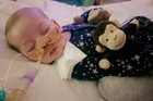 Charlie Gard has been in hospital since October last year. Photo / Gofundme