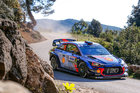 Thierry Neuville in action during WRC Corsica. Photo / Supplied