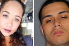 Chozyn Horokeke and her boyfriend, wanted man Turiarangi Tai. Photographs supplied NZ Police