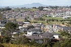 With Auckland's population exploding, economist sees need for a further 100,000 homes in next decade. Photo / Michael Craig