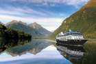 The Azamara Journey in Fiordland. Visits to Gisborne, Nelson and Stewart Island are being added to Azamara's New Zealand itineraries. Photo / Pamela Wade