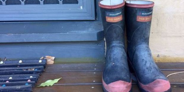 Loading Kiwis are putting their gumboots on their front porch in honour of John Clarke, who died at age 68. Photo / via Twitter