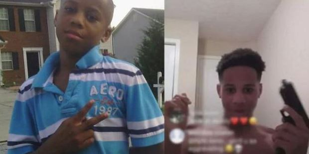 Malachi Hemphill was found by his mother Shaniqua Stephens and her daughter after they heard a loud bang from his bedroom. Photo / Supplied