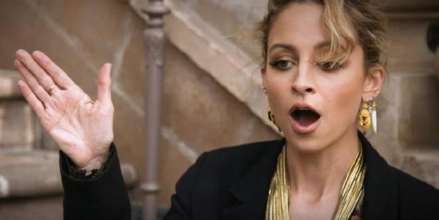 Nicole Richie Slapped During High Five Gone Wrong