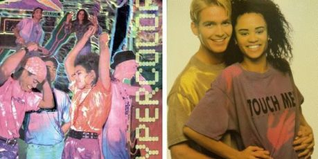 Hypercolor T-shirts were a fashion must-have in 1991.