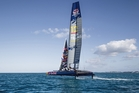 Red Bull Youth America's Cup boat in action at Bermuda. Photo / Supplied