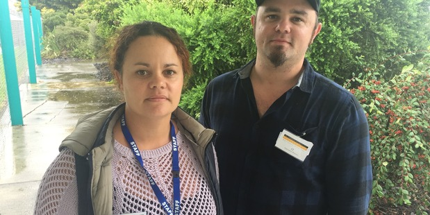 Edgecumbe business owners - and brother and sister - Charelle and Kyle Stevenson are keen to get back on their feet again. Photo / Jamie Morton