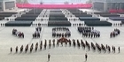 Watch: Watch: Kim Jong Un presides over immense military parade