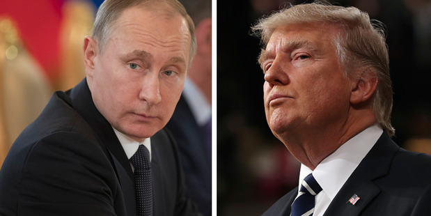 Loading Russian and Iranian forces warned Donald Trump they would retaliate with military action if he launched more airstrikes on Syria. Photos / AP