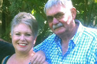 A horrific crash killed Leigh Rhodes (left) and severely injured her partner Lance Carter. Photo / Supplied