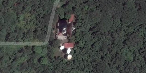 Pictured is an image via Google Maps showing what appears to be the center being used by Russia. Photo/Google Maps