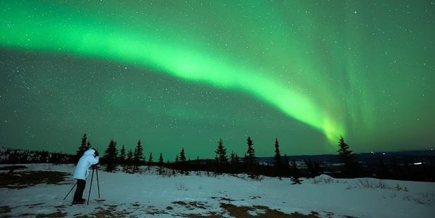 The aurora borealis. Photo / 123RF