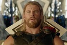 Chris Hemsworth as Thor in the first trailer for Taika Waititi's Thor: Ragnarok.