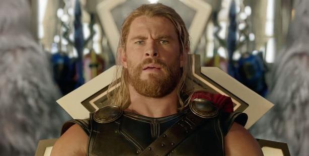 Loading Chris Hemsworth as Thor in the first trailer for Taika Waititi's Thor: Ragnarok.
