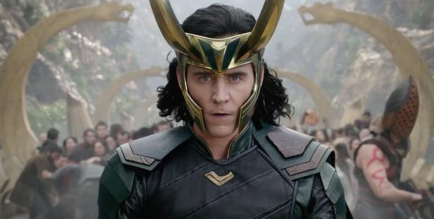 Tom Hiddleston as Loki in the new trailer for Thor Ragnarok.