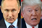 Donald Trump says he'd like to think the government of Vladimir Putin didn't know about the chemical attack in Syria.