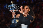 Serena Williams is up to 23 grand slam singles titles, the latest in Melbourne while pregnant, as she revealed her bump to the world this week. Photo / Getty Images