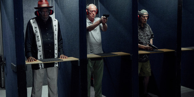 Morgan Freeman, Michael Caine and Alan Arkin star in Going in Style. Exclusive to TimeOut until April 20