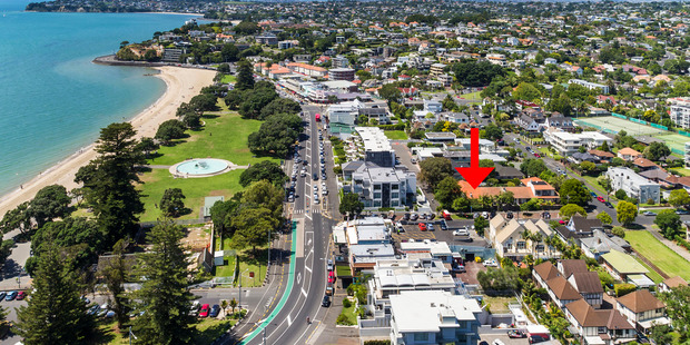 A site at 2 Atkin Avenue, Mission Bay, sold for $1,955,000. Photo / Supplied