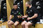 The Lions could be joining the likes of All Blacks Codie Taylor and Joe Moody in having a post-match beer. Photo / Photosport