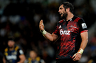 Sam Whitelock's calm and assured captaincy has been a huge bonus for Crusaders coach Scott Robertson this season. Photo / Photosport
