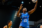 Steel shooter Jhaniele Fowler-Reid notched up 70 of her side's 90 goals in the massive win over the Tactix.