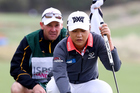 Caddie Gary Matthews has joined Ko's former coach David Leadbetter in a fairly brutal assessment of her constant changes and decision-making. Photo / Photosport
