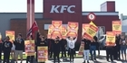 Strike outside KFC