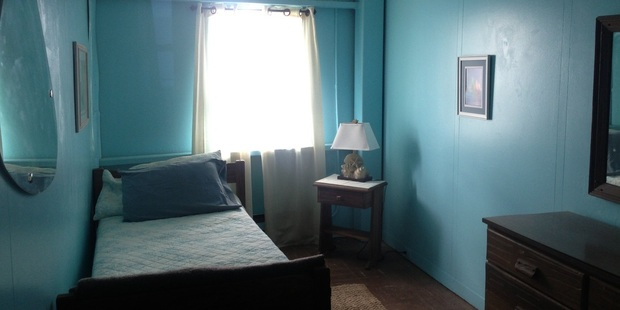 The Bald Head Island Room at the Frying Pan Tower.