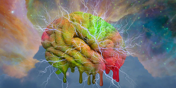 """People under the influence of psychedelic drugs attain a """"higher"""" state of consciousness. Photo / 123RF"""