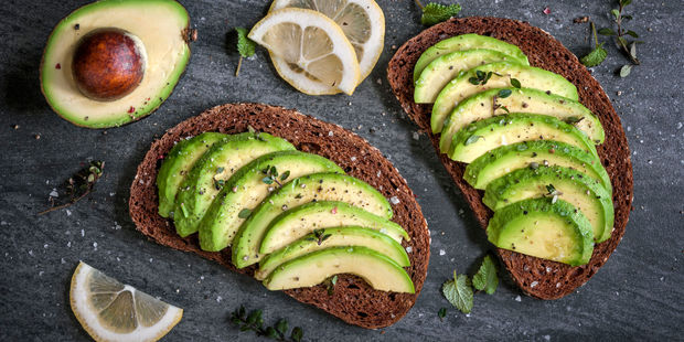 Avocado may be able to help overcome issues such as ulcers, sore tongue, bad mood and restless legs. Photo / 123RF