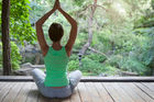 Dussault says 'you're in for a treat' if you combine marijuana and yoga. Photo / 123RF